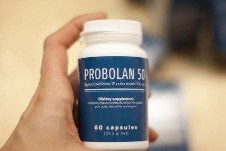 suplemento dietético Probolan 50 efeitos, comentários, farmácia, preço